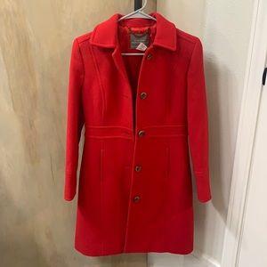 J.Crew Petite Double-Cloth Lady Day Coat